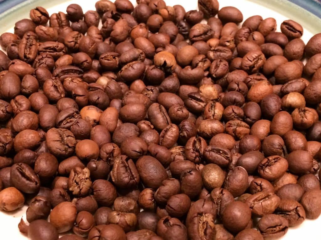 Roasted Robusta Beans. Photo: Carter Brown